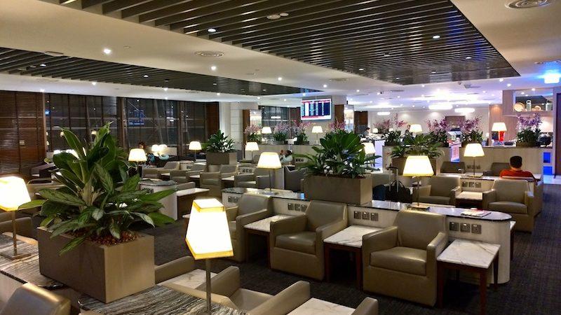 【空港ラウンジ】シンガポール・チャンギ国際空港(SIN)ターミナル2「SATS Premier Lounge」