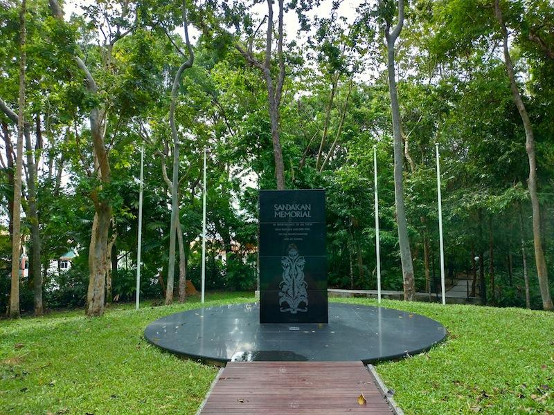 【マレーシア】サンダカン死の行進〜メモリアルパーク(捕虜収容所跡地)を訪ねて