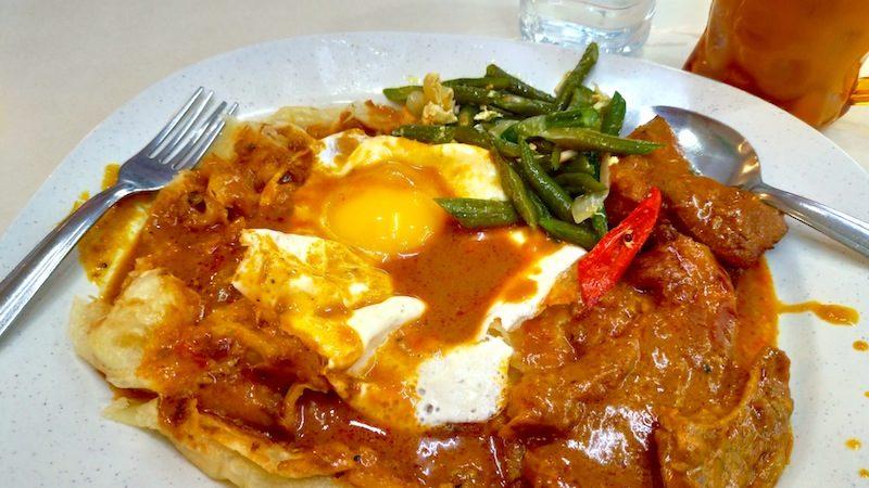 【マレーシア】コタキナバル名物のボリューム満点ロティコブラ「Islamic Restoran」
