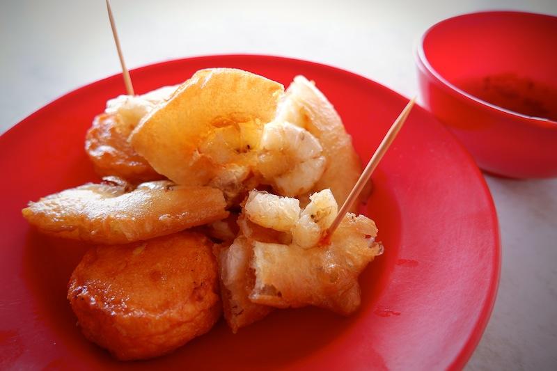 【マレーシア】クチンのお地元カフェでおやつタイム「Swee Kang Ais Kacang」