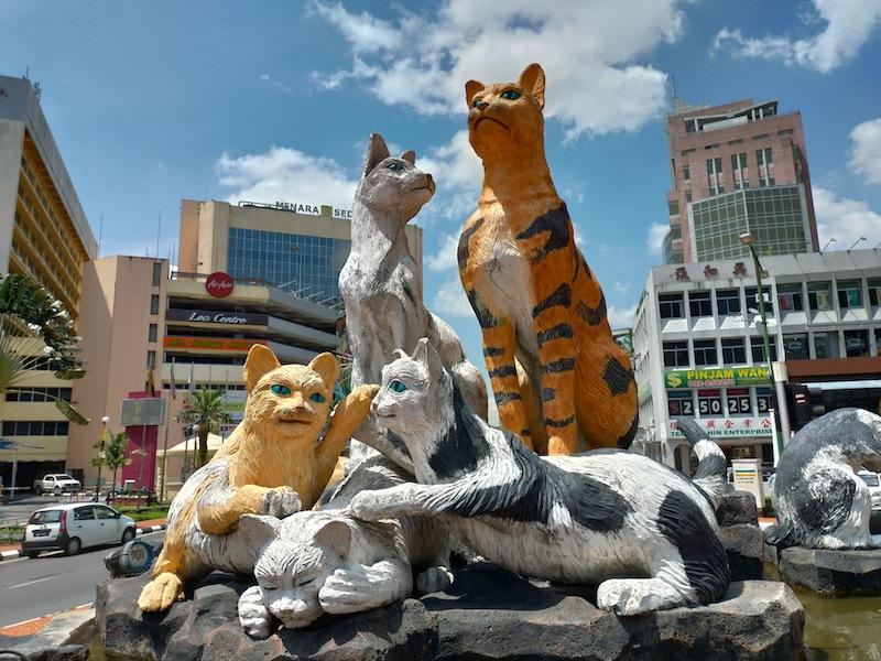 【マレーシア】猫とコロニアルの街〜クチン市内観光①