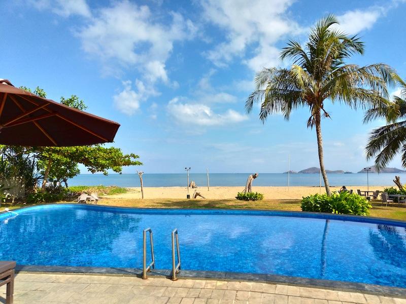 【コモド島】ラブハンバジョのビーチホテル「Luwansa Beach Resort」