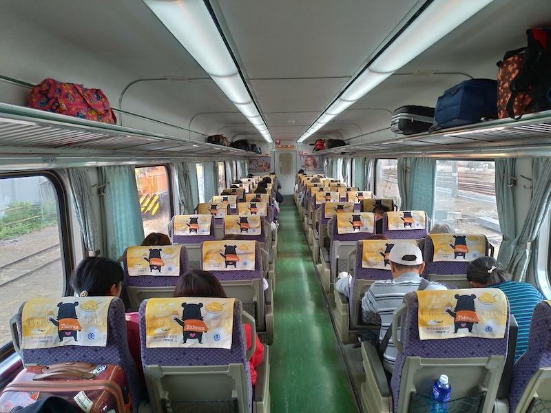 【台湾】台南から台中へぶらり特急列車の旅
