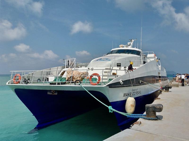 【インド】ハブロック島からニール島への行き方(Makruzz社の高速フェリー)