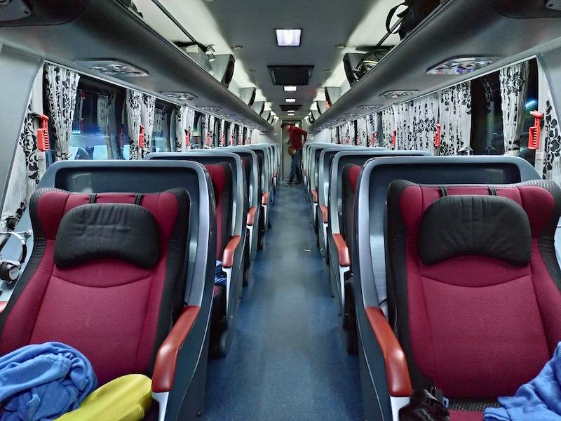【タイ】バンコクからメーサロンへの行き方①(超VIPバス編)