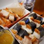 【バンコク宅配ごはん】Moo Mhud Hookの揚げ豚寿司(バンチャック)