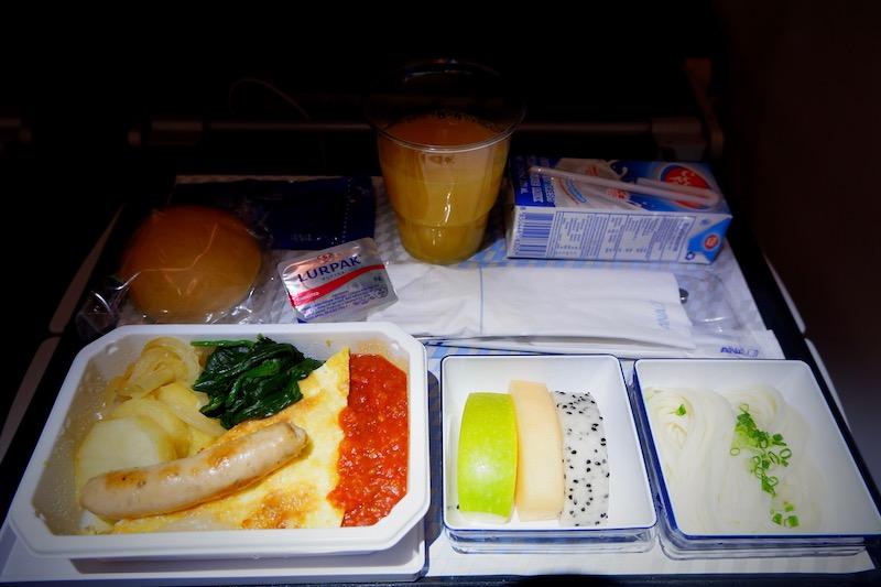 【全日空(ANA)機内食・搭乗記】NH850/BKK-HND/バンコク(スワンナプーム)-東京(羽田)