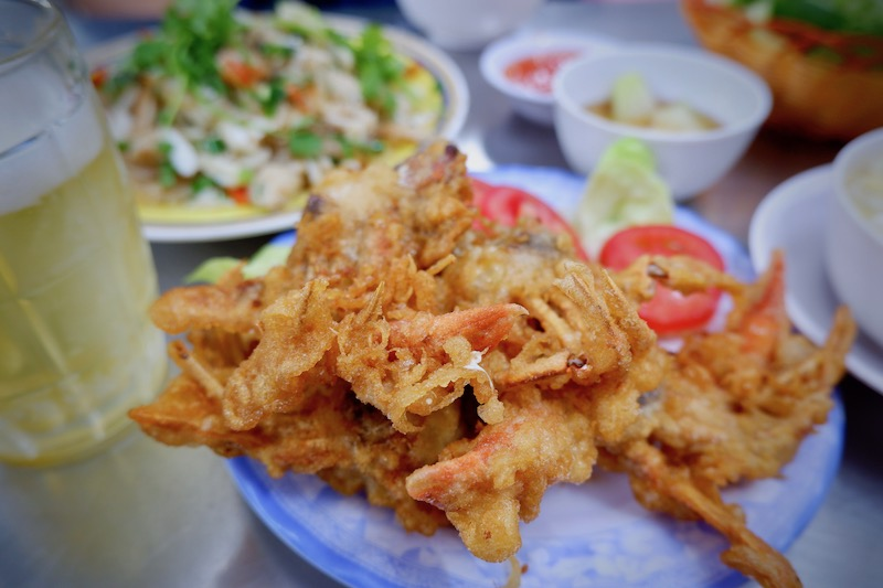 【ベトナム】ホーチミンでカニ料理ディナー「94 Thuy Restaurant」