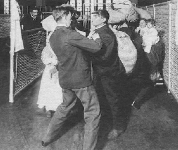 Inspection at Ellis Island