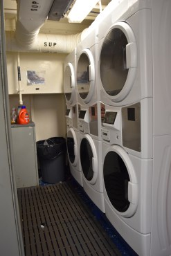 Laundry room on NOAA Ship Shimada