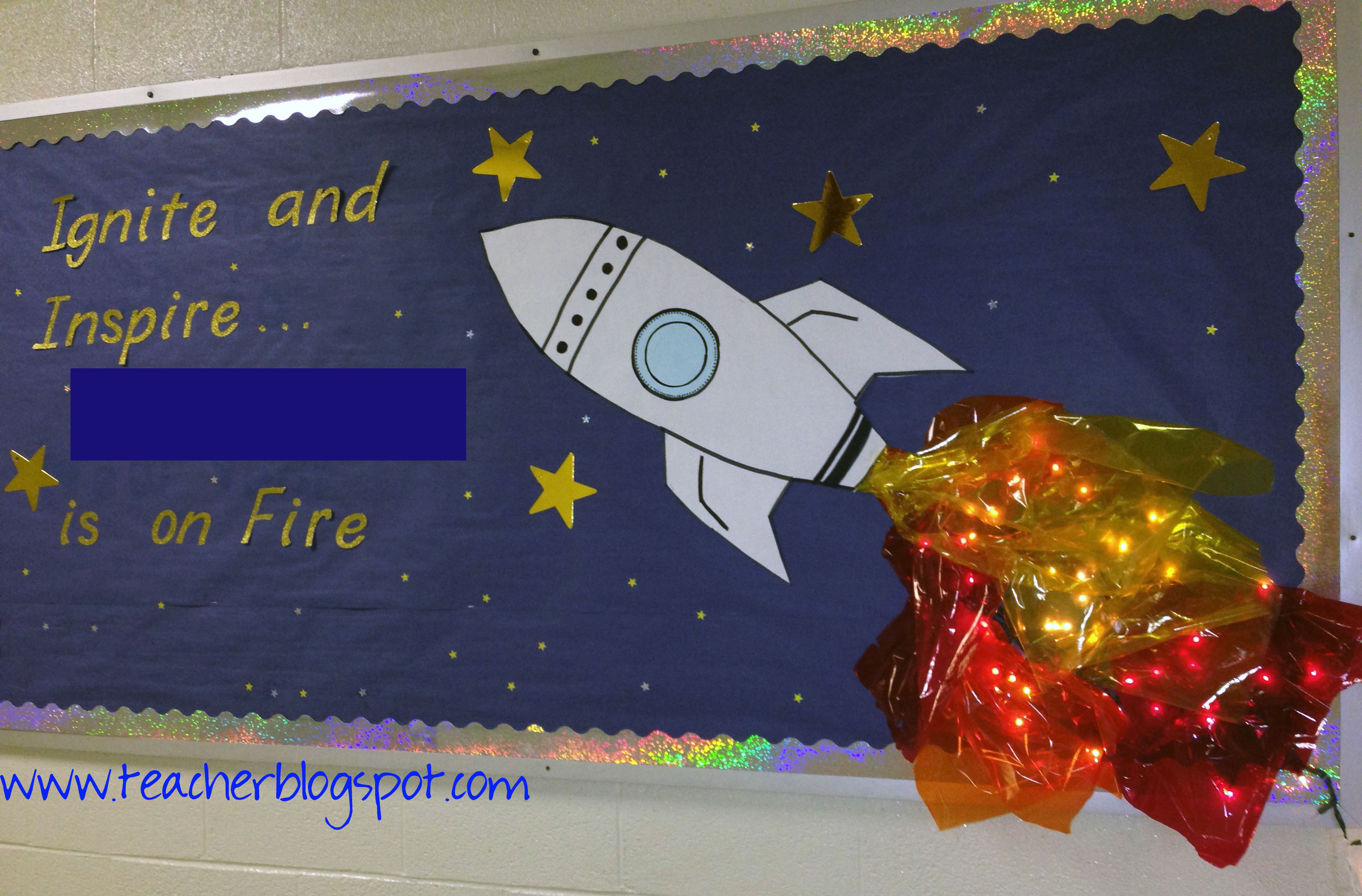 You Can Use This Cute Bulletin Board Idea To Recognize Achieving Students Teacher Blog Spot