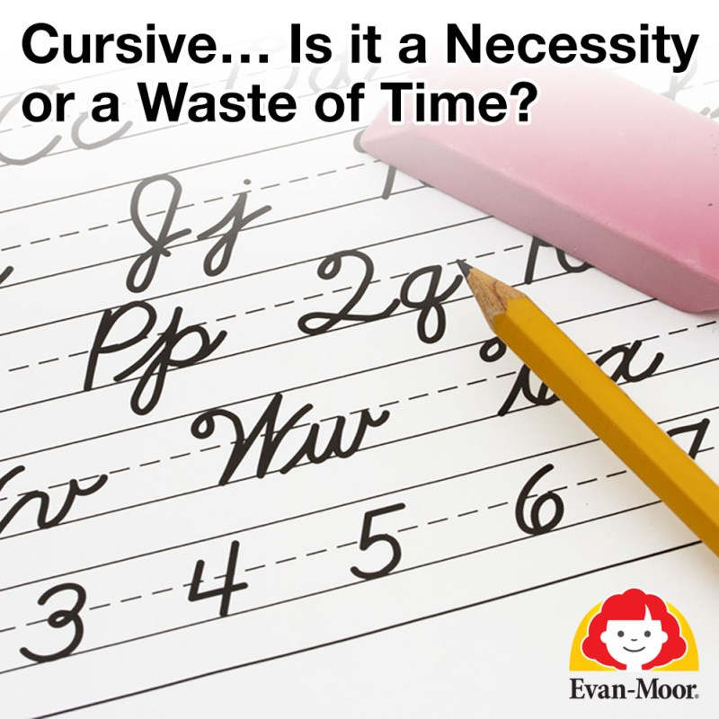 Cursive…Is It a Necessity or a Waste of Time? - The Joy of ...