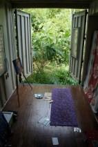 my art and yoga room
