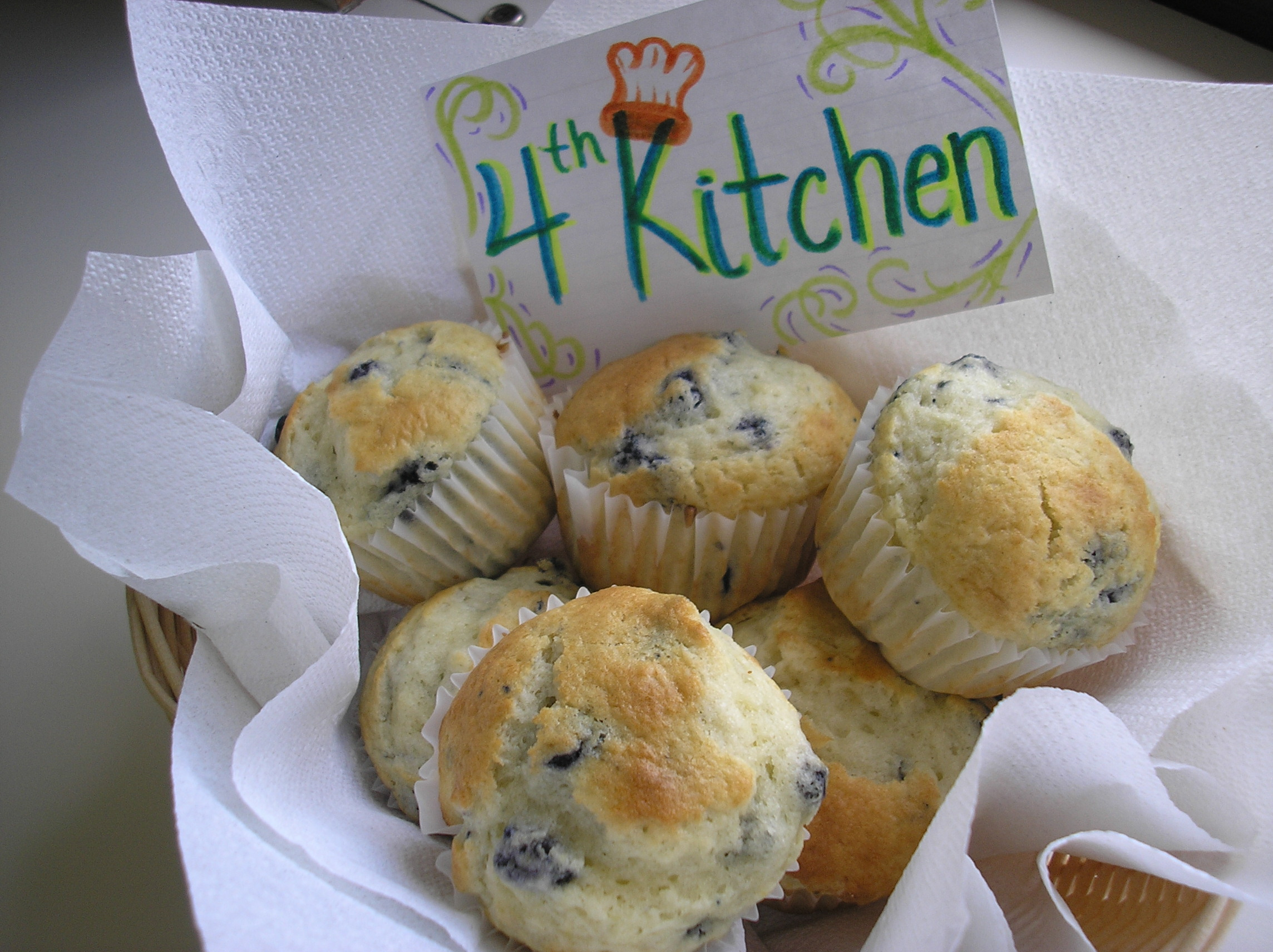 Great muffins and a cute card
