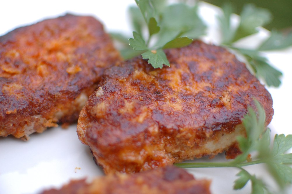 Pan-fried Pork Loin Chops