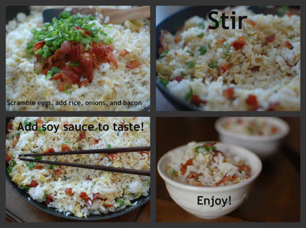Bacon-and-Egg Rice (3/3)