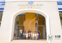 SISB Singapore International School Chiang Mai visit the aquarium