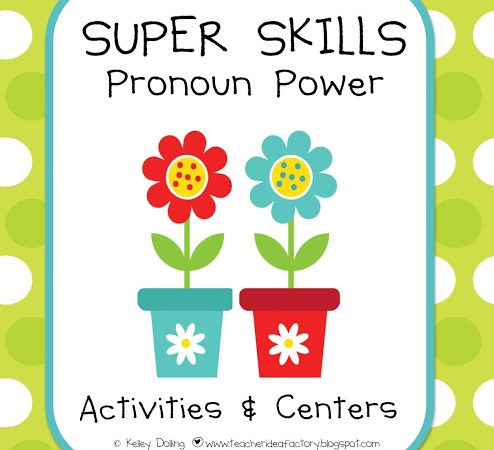 POWER UP WITH PRONOUNS – NEW SKILLS PACK