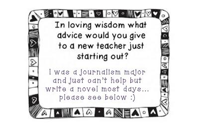 SHARING WISDOM – ADVICE FOR NEW TEACHERS LINKY