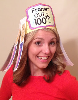 HOORAY . . . IT'S THE 100TH DAY – HAT + BULLHORN
