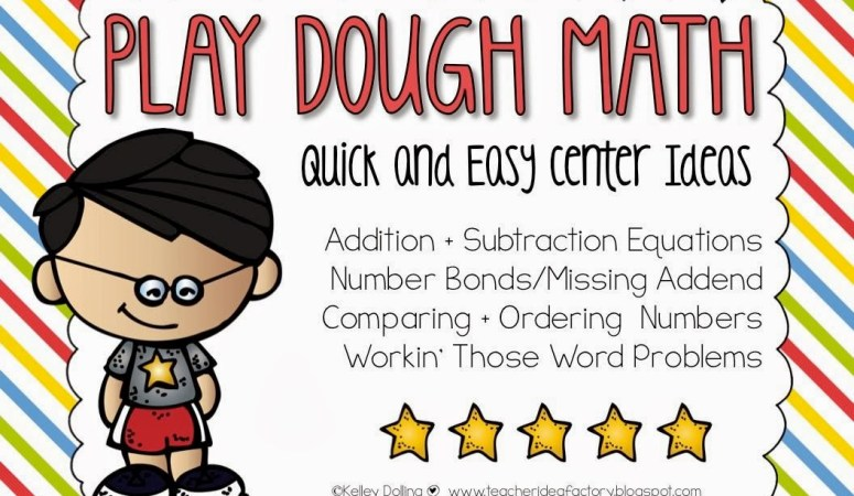 PLAY DOUGH MATH – COMMON CORE ALIGNED