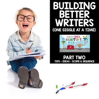 BUILDING STRONGER WRITERS (PART 2)