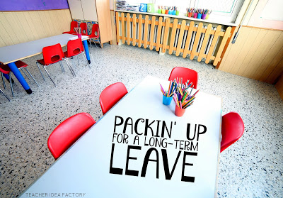 TIPS, TRICKS, AND PITFALLS WHEN PACKIN' UP A CLASSROOM