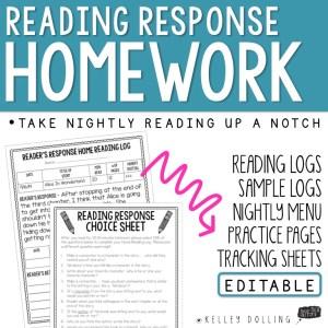 READING RESPONSE HOMEWORK_SQUARE COVER