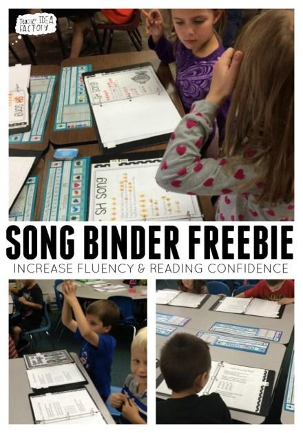 SONG BINDER FREEBIE