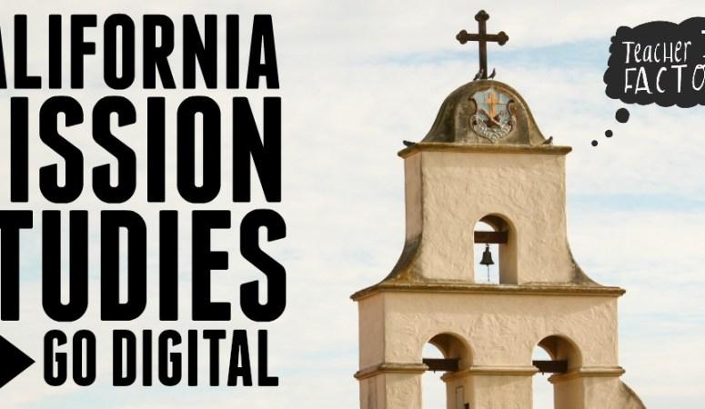 CALIFORNIA MISSION STUDIES GO DIGITAL