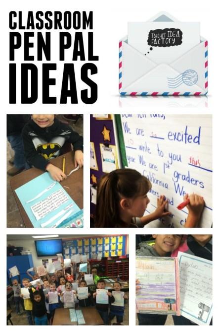 CLASSROOM PEN PAL IDEAS - Teacher Idea Factory