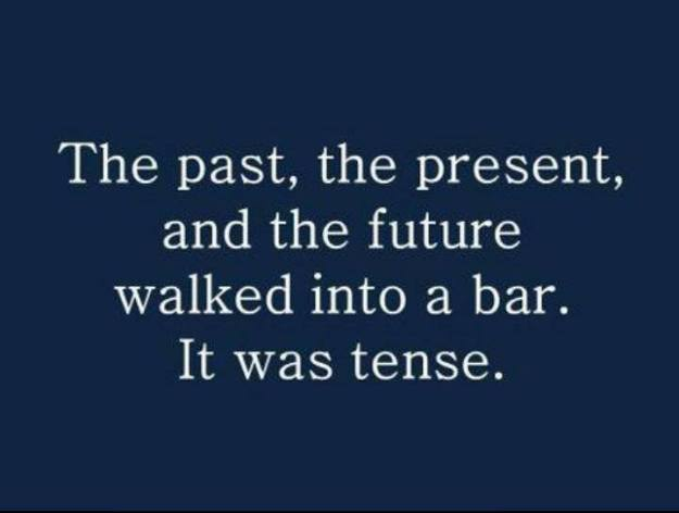 Grammar joke