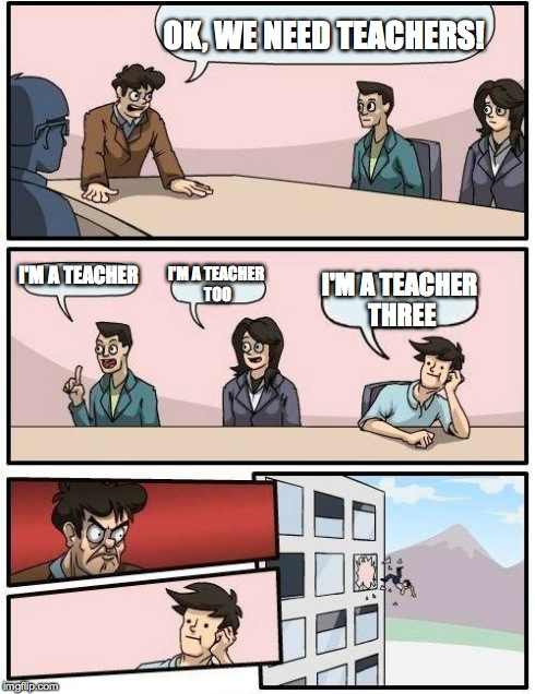Teacher's meeting