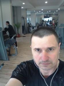 Ivan Irikov at the Gym