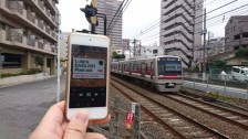Junji Yanagi, from Japan, who prefers walking than taking the train because it gives him more time to listen to LEP