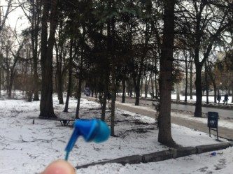 Vlad from Kharkiv in Ukraine, where it looks very cold indeed