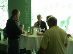 Tasting single malt whiskies