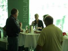 Tasting single malt whiskies