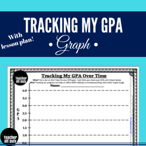 The perfect way to help students make long-term GPA goals and make their progress visible.