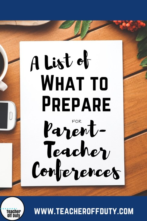 So. You're starting to roll in those parent-teacher conferences on your schedule, and you're starting to wonder….what in the WORLD are we going to talk about, and how can I prepare?