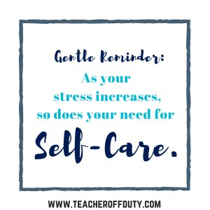 No matter where you are in your career, teachers face the risk of burnout. This FREE email series takes you step-by-step through changing your mindset and adding simple routines to help you teach better and live happier. Teaching doesn't have to be miserable. Let's make it better together.