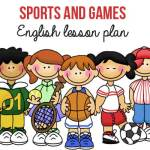 Sports and Games ESL Lesson Plan for Beginners (A1) – Modals – can/ can't/ could/ couldn't