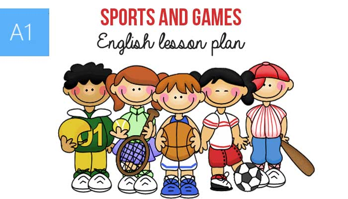 Sports and Games ESL Lesson Plan for Beginners (A1) – Modals – can ...