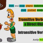 English Grammar – Transitive and Intransitive Verbs