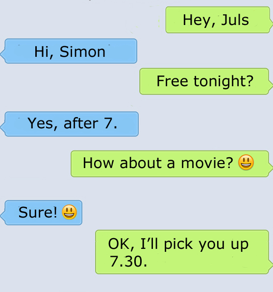 SMS invitations in English - EFL  and ESL Lesson Plan