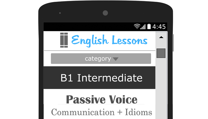 Passive Voice – B1 Intermediate English Lesson Plan – Communication