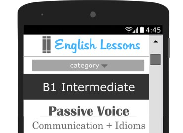 English Lesson Plans for ESL and EFL teachers - B1 Intermediate English Lesson - Passive Voice and Communication Idioms