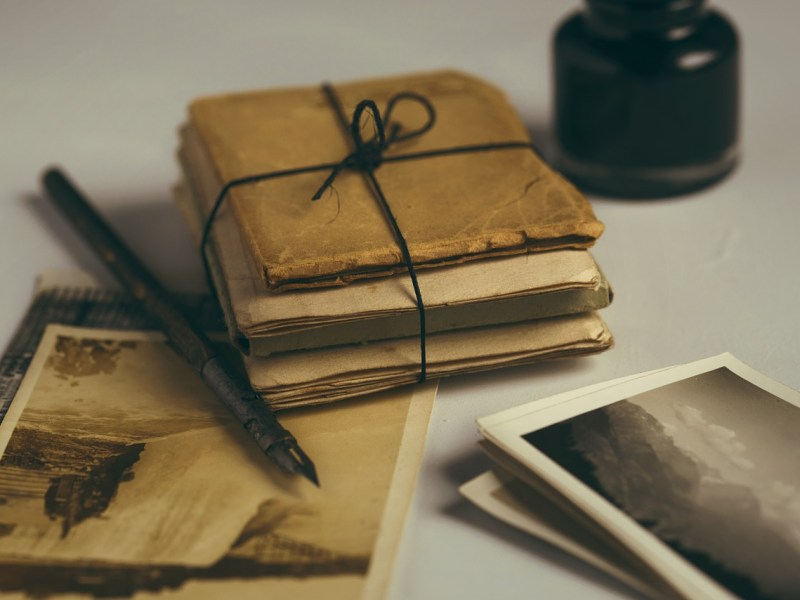 Photographs and letters