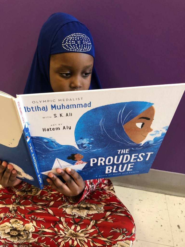 "Ibtihaj Muhammad's ""The Proudest Blue"""