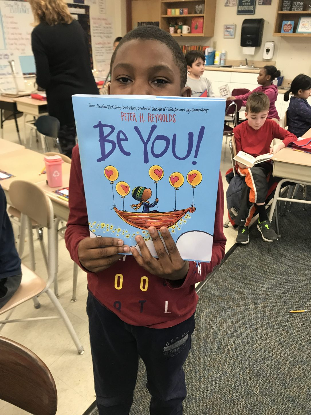 Be You! By: Peter Reynolds